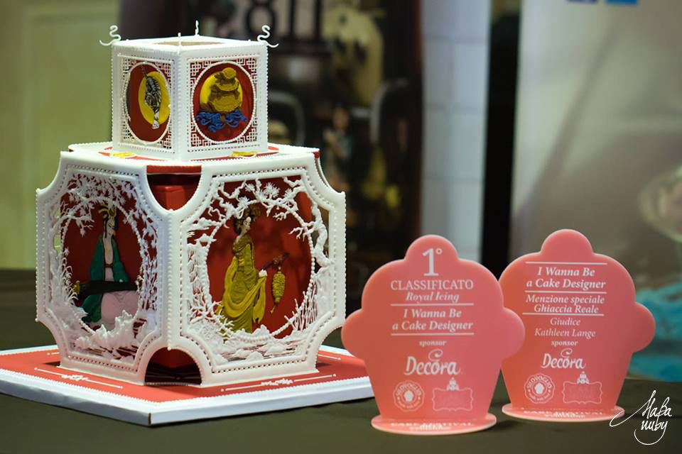 2014 CDIF Italia Milano cat royal icing