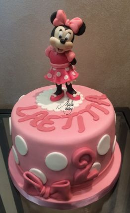 Cake Design Modelling Minnie