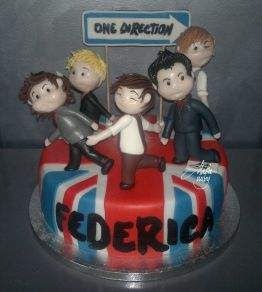 Cake Design Modelling One Direction