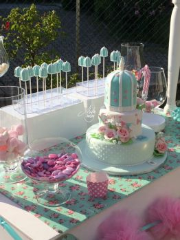 Cake Design Battesimo Sweet Table