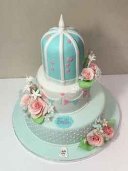 Cake Design Battesimo Sweet Table A Piani
