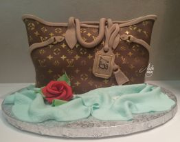 Cake Design Feste Fashion Luis Vitton