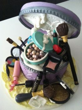 Cake Design Feste Fashion Make Up