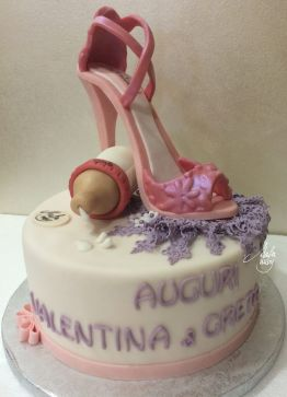 Cake Design Feste Fashion Scarpa
