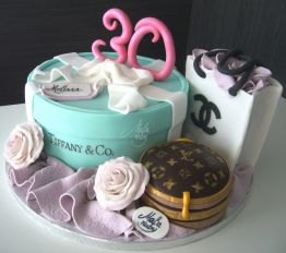 Cake Design Feste Fashion Scatola