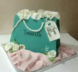 Cake Design Feste Fashion Tiffany